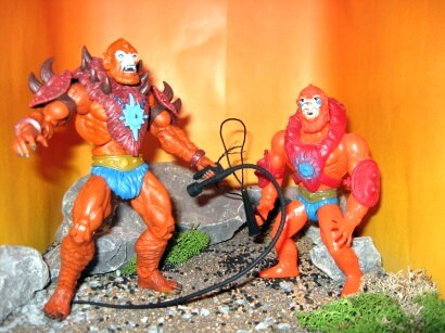 Beast-Man Classics vs. Beast-Man Retro