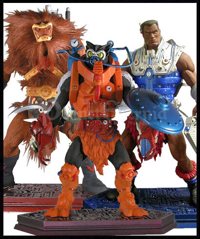 Serie 2: Grizzlor, Stinkor & Clamp Champ