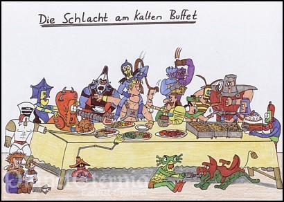 Die HeiГџe Schlacht Am Kalten Buffet