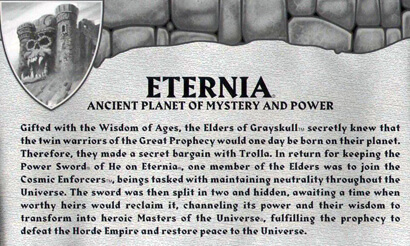"""Eternia Map"" Biografie"
