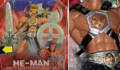 He-Man Chase Figur