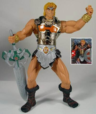 "Battle Sound He-Man ""Gold Armor"" Variante"