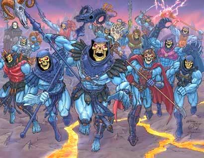 "Poster ""20 Years of Skeletor"""