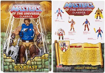 2014 MOTU Rio Blast MOTUC Masters of the Universe Classics MOC