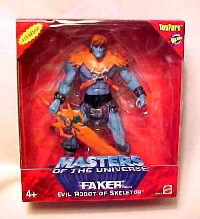2003 Exclusive Toy Fare Faker OVP