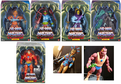 "Mattels ""He-Man and the Masters of the Universe"" Toyline"