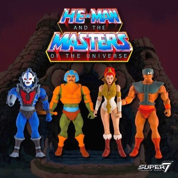 Hordak, Man-At-Arms, Teela, Tri-Klops