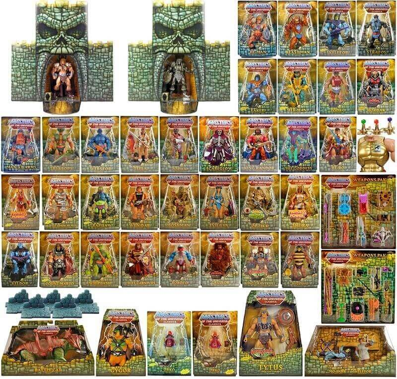 Masters of the Universe Classics - alles von 2008 - 2010