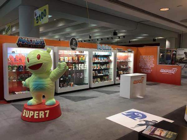 Messestand von Super7 auf der New York Toy Fair