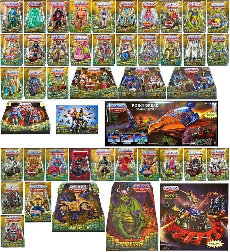 Masters of the Universe Classics - alles von 2015 - 2016